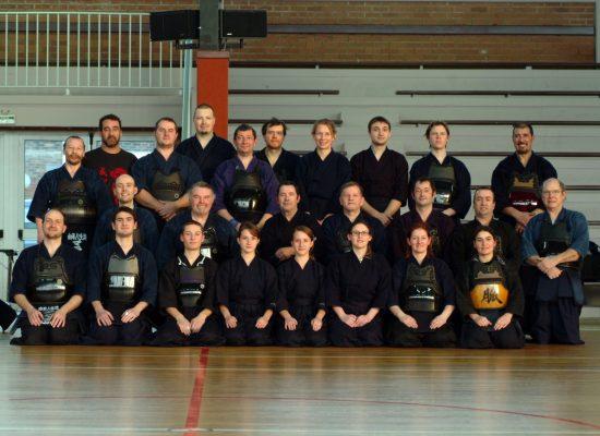 Les groupes au kendo