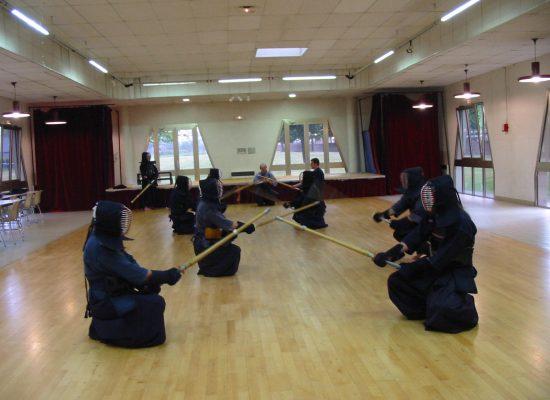 Le kendo en action
